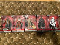 LOT Star Wars Elite Series / FINN POE REY BB-8 KYLO REN TROOPER / NEW