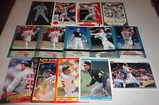 Mark McGwire 14 card lot -all different -A's -Cardinals