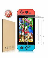 3Pack For Nintendo Switch Premium 9H Tempered Glass Screen Protector Guard