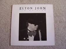 Elton John: Ice On Fire LP: 1985 UK Release.