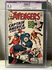 The Avengers #4 1st Silver Age Captain America CGC 8.5 RESTORED   MAKE AN OFFER!