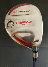 Adams Golf RPM Low Profile 3 Wood Grafalloy  Pro Launch Blue 75R- RH
