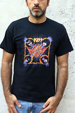 KISS SONIC BOOM 2009 HEAVY METAL MUSIC BAND Eric Singer Tommy Thayer T SHIRT M