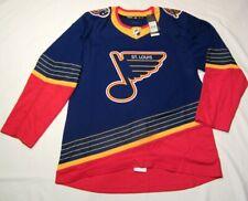 ST. LOUIS BLUES size 52 = Large  ADIDAS RETRO Aeroready Authentic Hockey Jersey