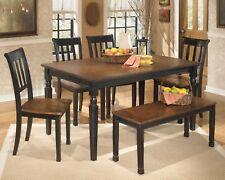 Ashley Furniture Owingsville 6 Piece Dining Room Table Set