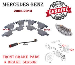 Mercedes Front Brake Pad Set w/Sensor S63 S65 AMG CL63 CL65 AMG W221 216 Genuine