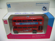 London 2012 Olympics Signed Sebastian Coe Ltd Edition Die Cast Routemaster Bus