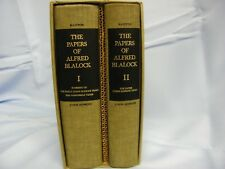 The Papers of Alfred Blalock 2 Volumes, 1st edition With Sleeve