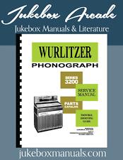 Wurlitzer 3200 Americana II Jukebox Service, Parts & Troubleshooting Manual