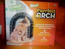 Cat Arch Bristles Self-Groomer Arch Massager Hair Brush Round Comb Scratcher Toy