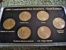 2009 Commemorative Quarters Gold Edition P Mint Unc