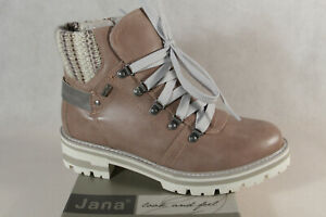 Jana Tex Ankle Boots Pink 26219 New