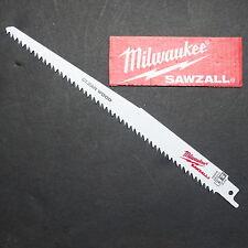 "Milwaukee Super Sharp Pruning Reciprocating Saw Blade 9"" - 225mm Australia Post"