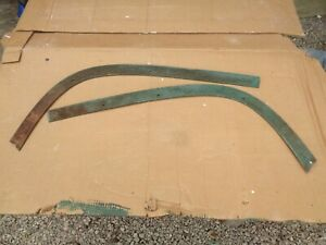 1958 Chevy Impala Belair Windshield Interior Lower Trim Low Rider Lead Sled Donk