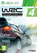 WRC FIA World Rally Championship 4 WRC Game Microsoft Xbox 360 PAL Brand New