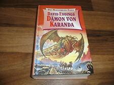 David Eddings -- MALLOREON-SAGA  #  3 // Dämon von Karanda // Hardcover 1996