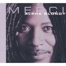 "ALPHA BLONDY ""MERCI"" CD REGGAE NEW!"