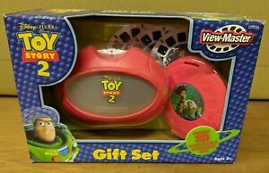 Disney Toy Story 2 View-Master Gift Set,3D Viewer, 3 Reels, Case New in Box Rare