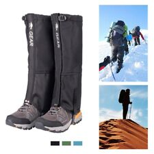 Outdoor Hiking Hunting Waterproof Snow Sand Snake Boots Cover Legging Gaiters
