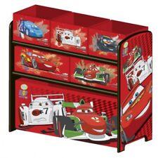 Disney Cars Multi Toy Organizer Regal Textilschubladen Aufbewahrungsbox #3714