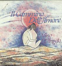 NINO D'ANGELO il cammino dell'amore LP poster SIGILLATO