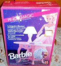 PLAYSET BAMBOLA BARBIE DOLL-MOBILI PINK MAGIC/SET SCRIVANIA TELEFONO/PHONE DESK