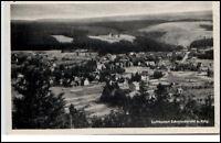 Schmiedeberg Sachsen DDR Postkarte 1957 Gesamtansicht Panorama Rennsteig Wald