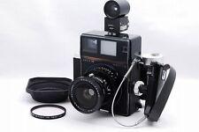 """""""EXC++"""" Mamiya Super 23 Black Sekor P 75mm f/5.6 Finder, Grip, 6x9 Holder #T920"""