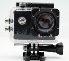 QUMOX WIFI SJ4000 schwarz Action Sport  Helmkamera Waterproof 1080p 720p