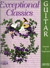 Classical & Finger Style Exceptional Classic Guitar Tab Music Book By Santorella