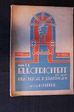 Kemperman Book De Electriciteit Deel 1 + 2, P. Visser (Nederlands) 1937