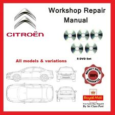 Citroen Workshop Service and Repair Manual All models and engine variations DVD