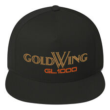 Honda Goldwing GL1000 Embroidered Flat Bill Cap