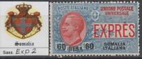 ITALY SOMALIA 1923 Express - Sass. Exp. n.2  cv 425$ SUPER CENTERED  MNH**