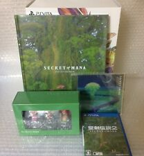 USED PSV Seiken Densetsu 2 Secret of Mana COLLECTOR'S EDITION JAPAN Sony PS Vita