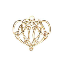 Elven King Elrond Heart Pendant for Necklace or Bracelet