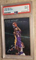 1999-00 Metal #115 Kobe Bryant Los Angeles Lakers HOF PSA 9💎GREAT INVESTMENT🐐