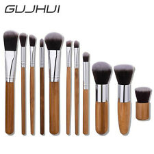 11Pcs Blending Pencil Foundation Eye Shadow Makeup Brushes Eyeliner Brush Set