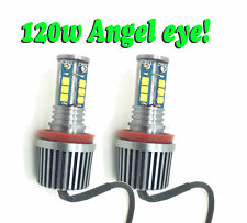 H8 BMW 12 LED ANGEL EYE UPGRADE 120W CREE! Replacement BMW 3 SERIES E92 E93 06+