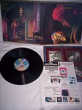 THE ELECTRIC LIGHT ORCHESTRA (ELO) DISCOVERY, 1979,ORIGINAL INSERT VG+ CONDITION