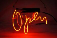 "New Open Bar Neon Light Sign Lamp Beer Pub Acrylic 14"""