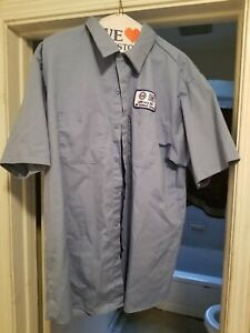 FACTORY GM TECH CENTER GENERAL MOTORS WORK SHIRT SIZE 44
