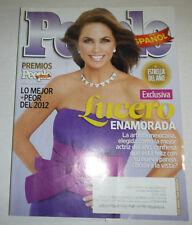 People Spanish Magazine Lucero Enamorada December 2012/ 2013 101714R2