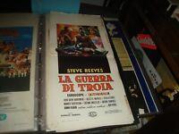 Die Krieg Von Shit Plakat Original 1961 Steve Reeves Zuerst Ausgabe