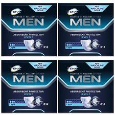 TENA Men Livello 1 Protettori assorbente (Leggero) X48 (4 confezioni da 12) vescica debole