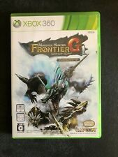 Monster Hunter Frontier G1 XBOX 360 (Used, Very Good, Complete)
