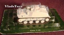 Eaglemoss 1:72 KMDB T-40 light tank Soviet Army, USSR EMR0041
