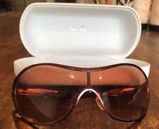 Oakley Deception OO4039-02 Metal Matte Berry/G40 Black Gradient Sunglasses AS~IS