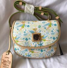 Run Disney 2017 Tinkerbell Marathon Dooney & And Bourke Cross Body Bag Purse B