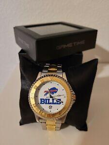 Gametime NFL Buffalo Bills Men's Two Tone Watch New In Box Never Worn